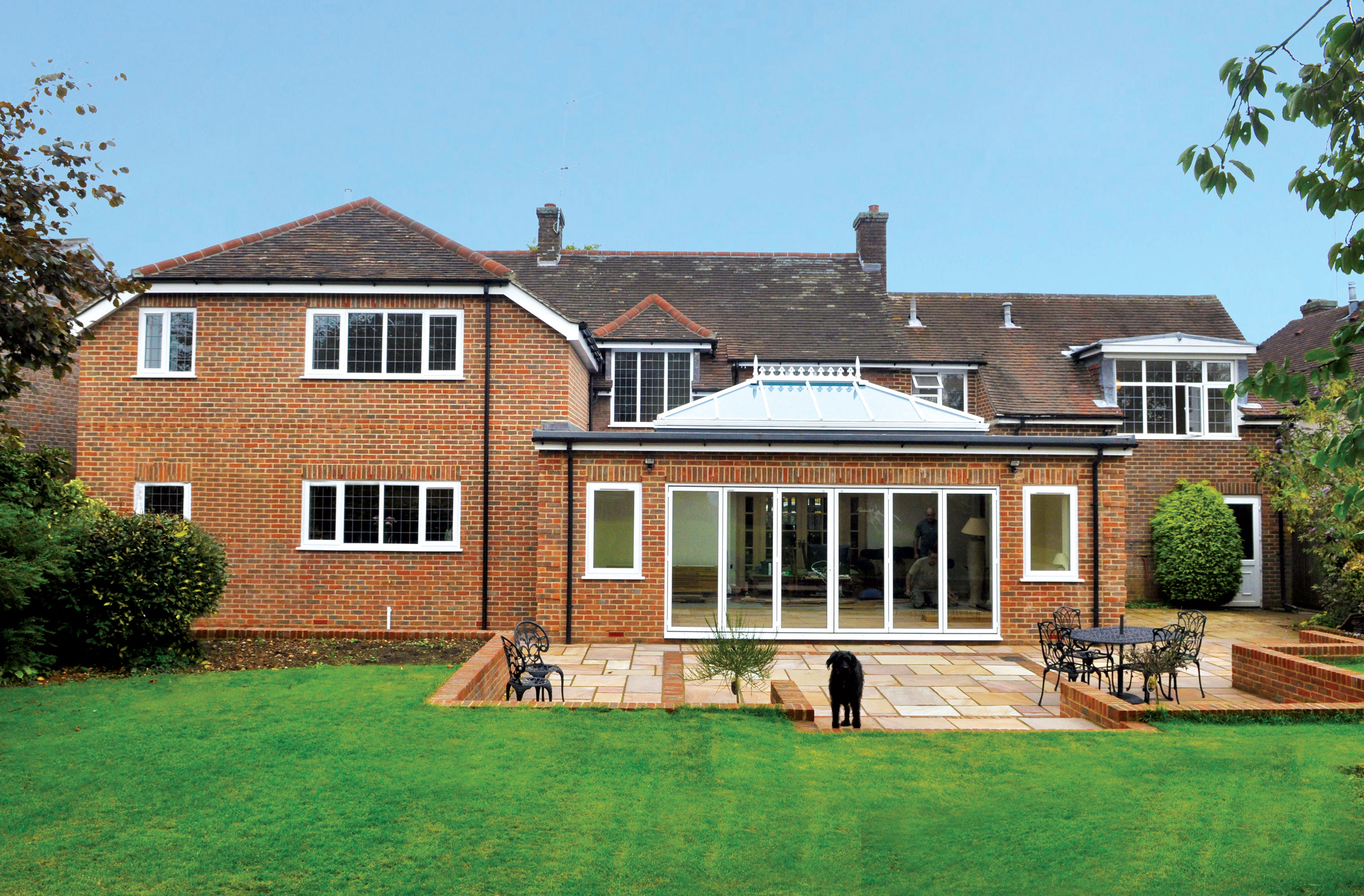 House extensions and loft conversions perry m jones ltd for Garden house extension